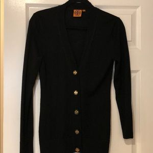Tory Burch Wool Cardigan Size Small